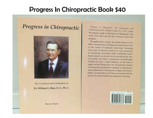 Progress in Chiropractic