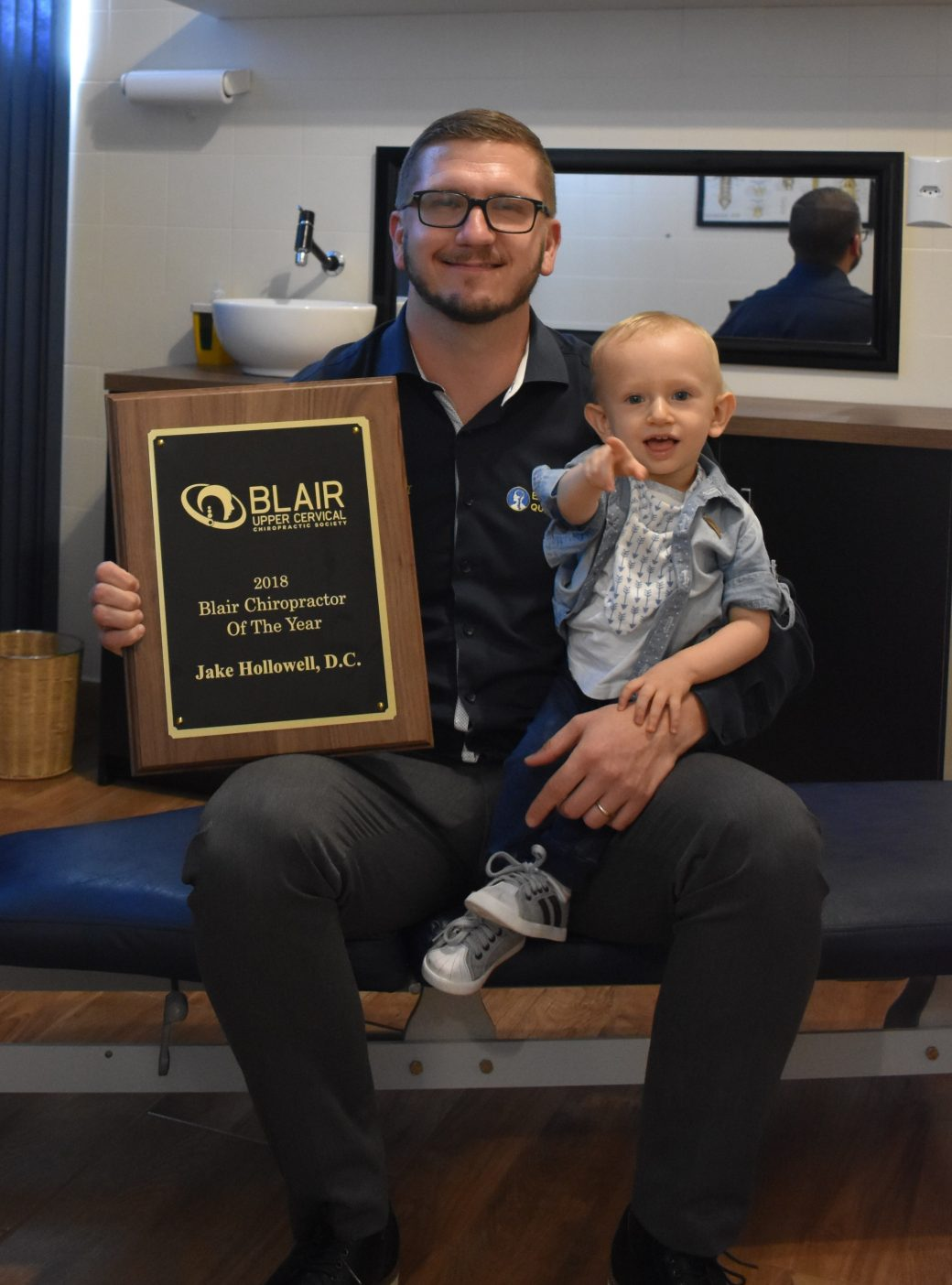 Chiropractor Of The Year – Dr. Jake Hollowell